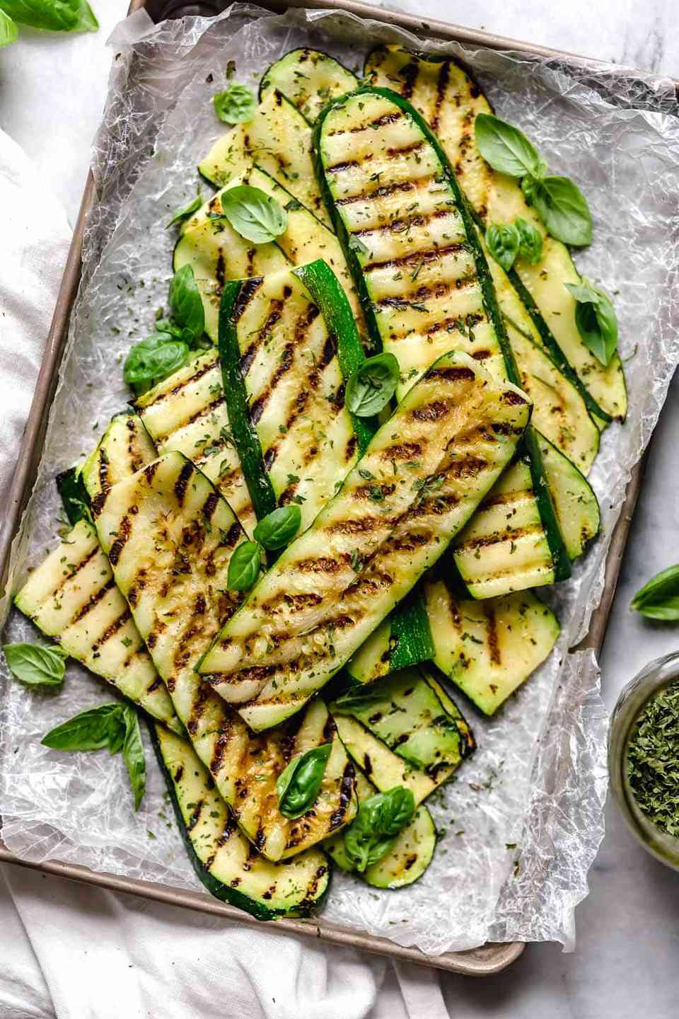 Grilled Squash Ribbons