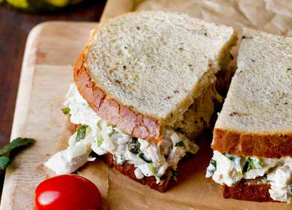 Tarragon Chicken Salad Sandwich