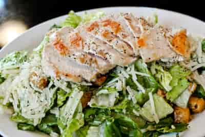Traditional Grilled Chicken Caesar Salad
