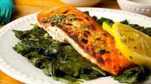 Pan-Seared Alaskan Salmon