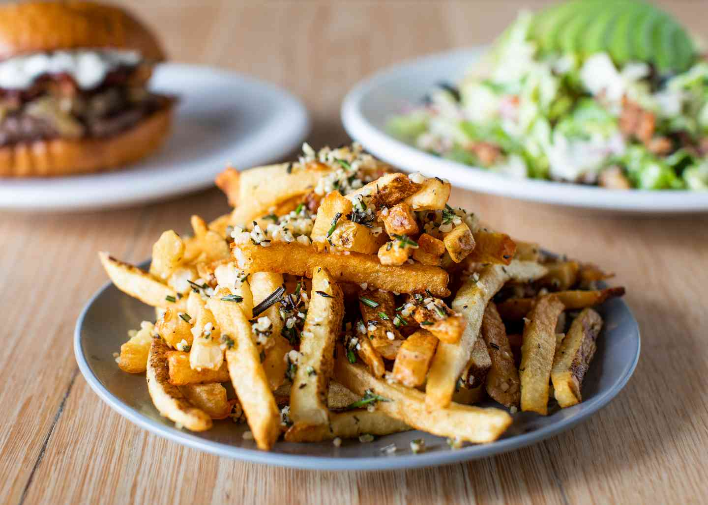 Garlic & Rosemary Fries