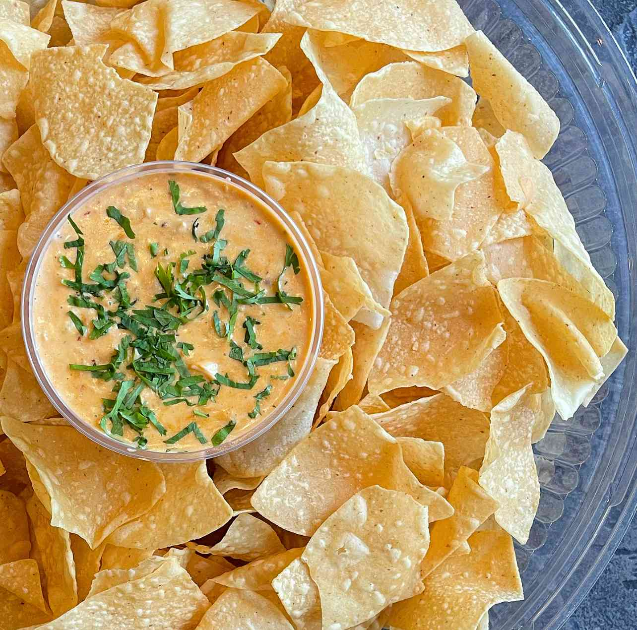 Famous Queso and Chips