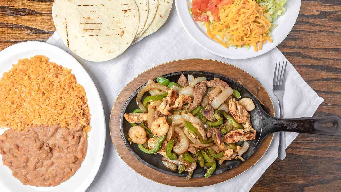 Combination Fajitas