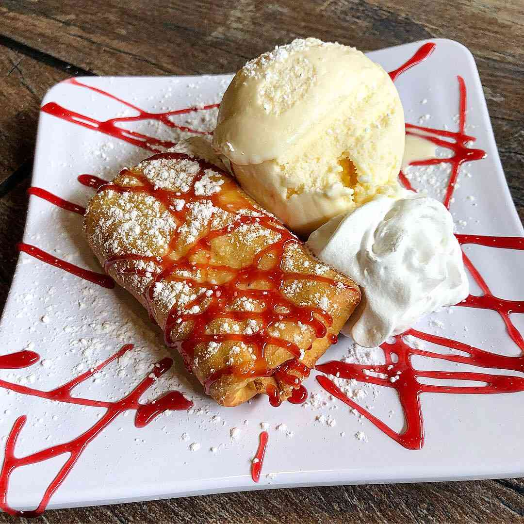 Raspberry Cheesecake Chimi