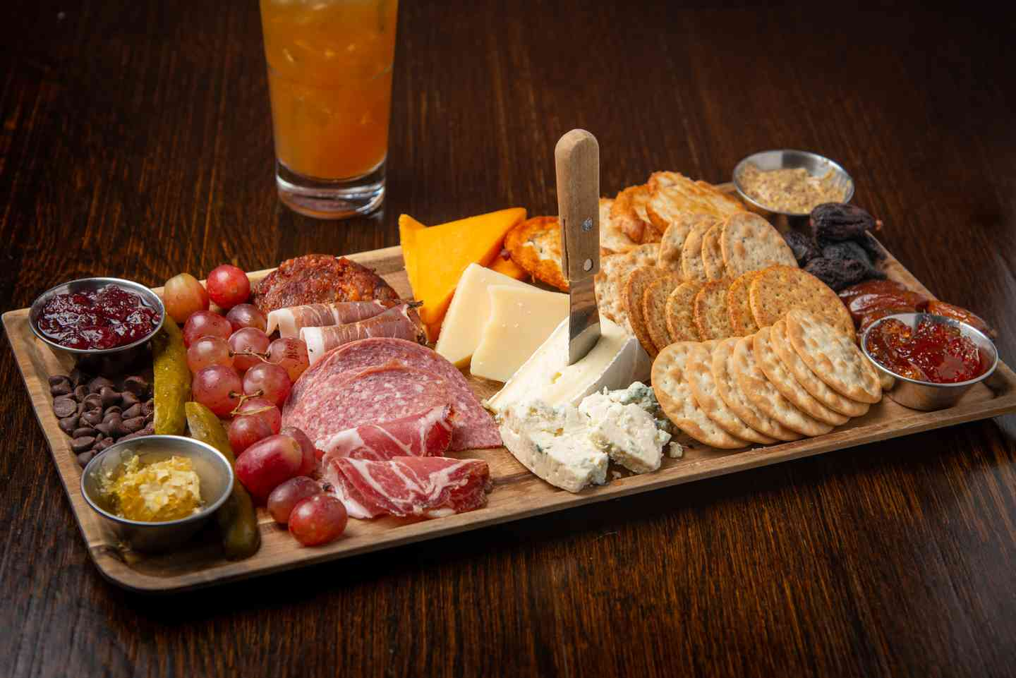 Off the Charts Charcuterie Board