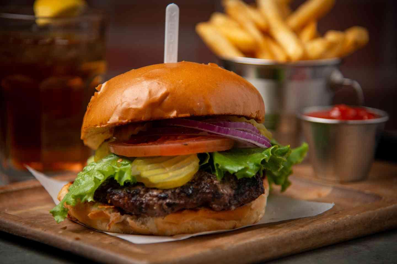 LP Half Pound Burger*