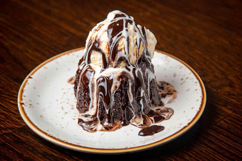 Dark Chocolate Molten Cake