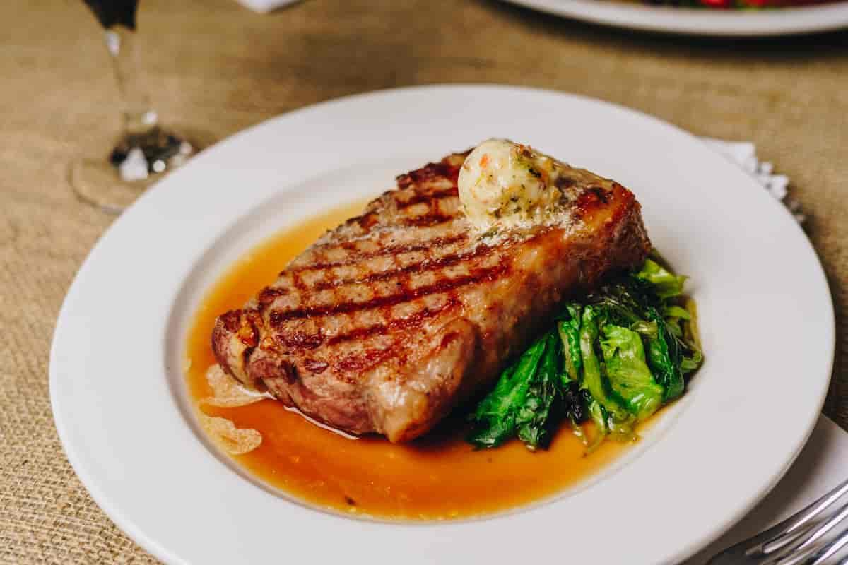 Grilled NY Sirloin Steak