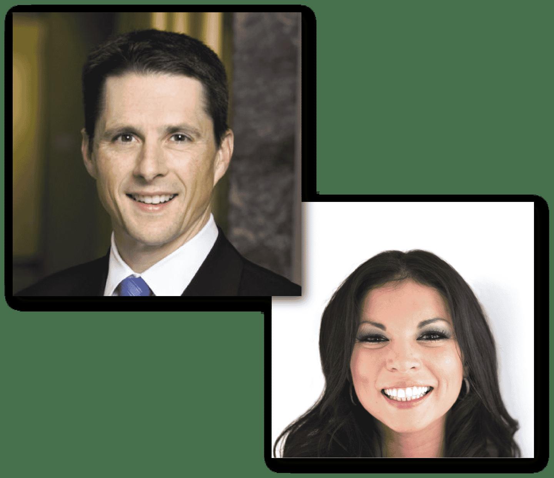 Scott Taber & Chrissy Gamble