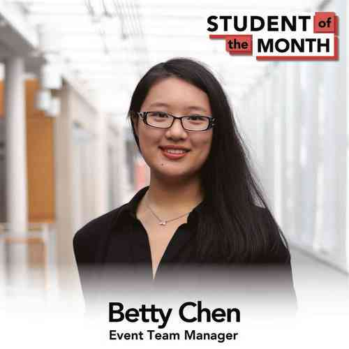 BETTY CHEN, SHA '22
