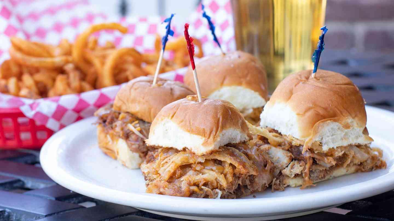 BBQ pork Slider