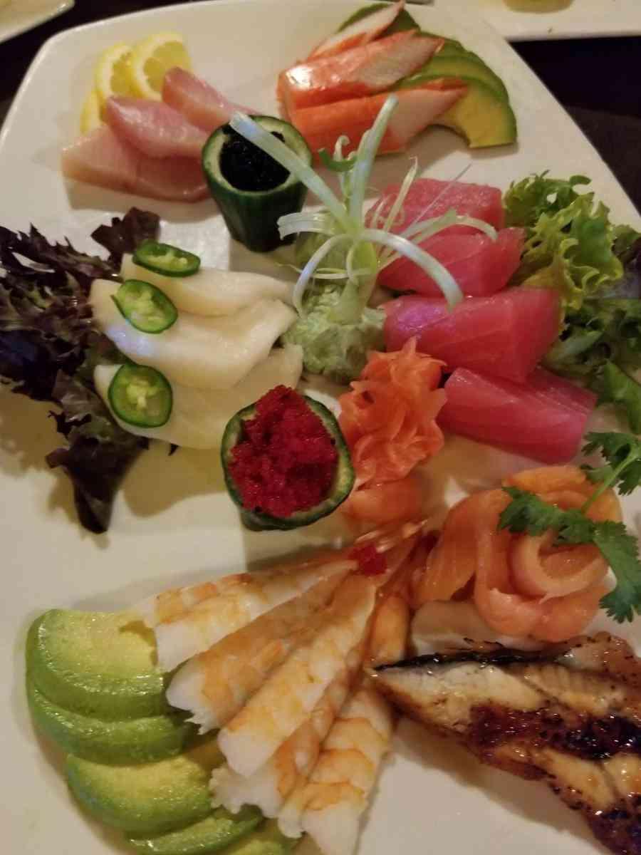 Sashimi Dinner