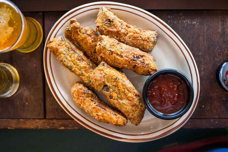 Chicken Fried Pork Ribs w/ TK BBQ