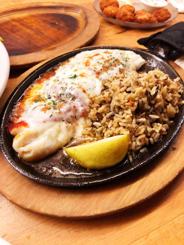 Broiled Haddock Parmesan