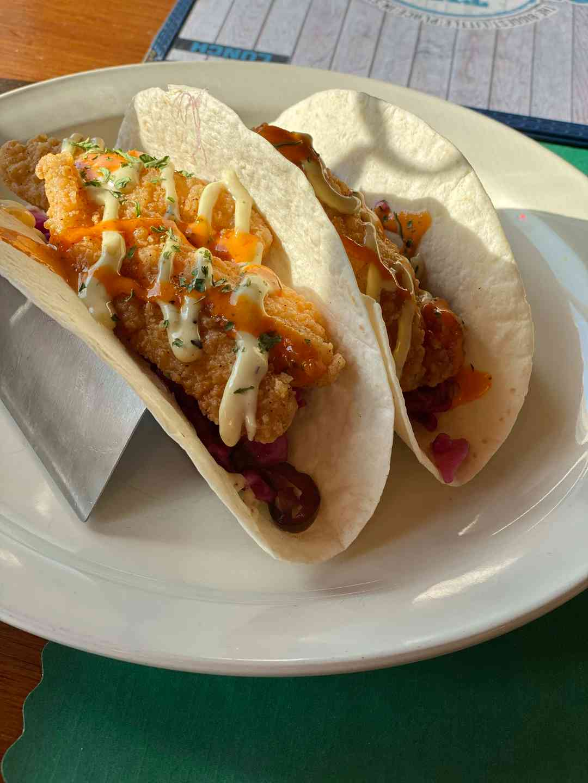 Grouper Tender Tacos (3)