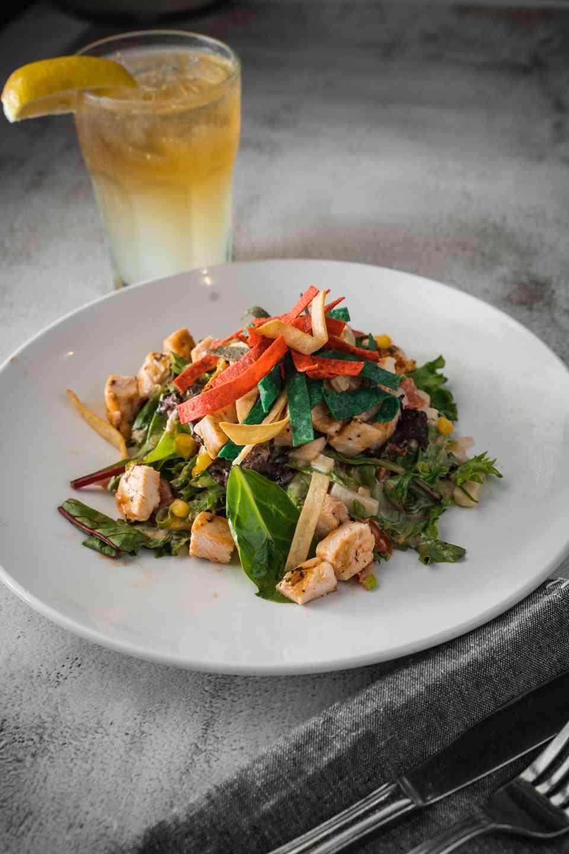 BBQ Chicken Salad**