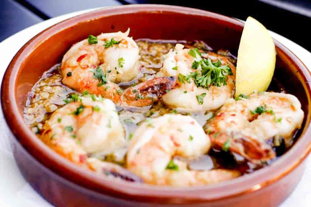 Sauteed Garlic Shrimp