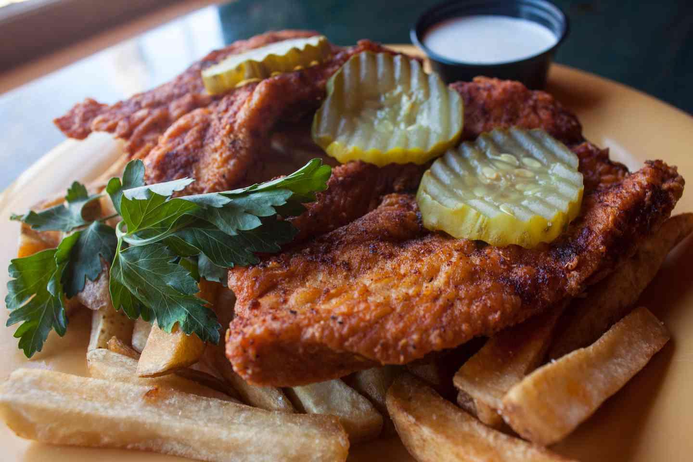 Nashville Hot Chicken Plate