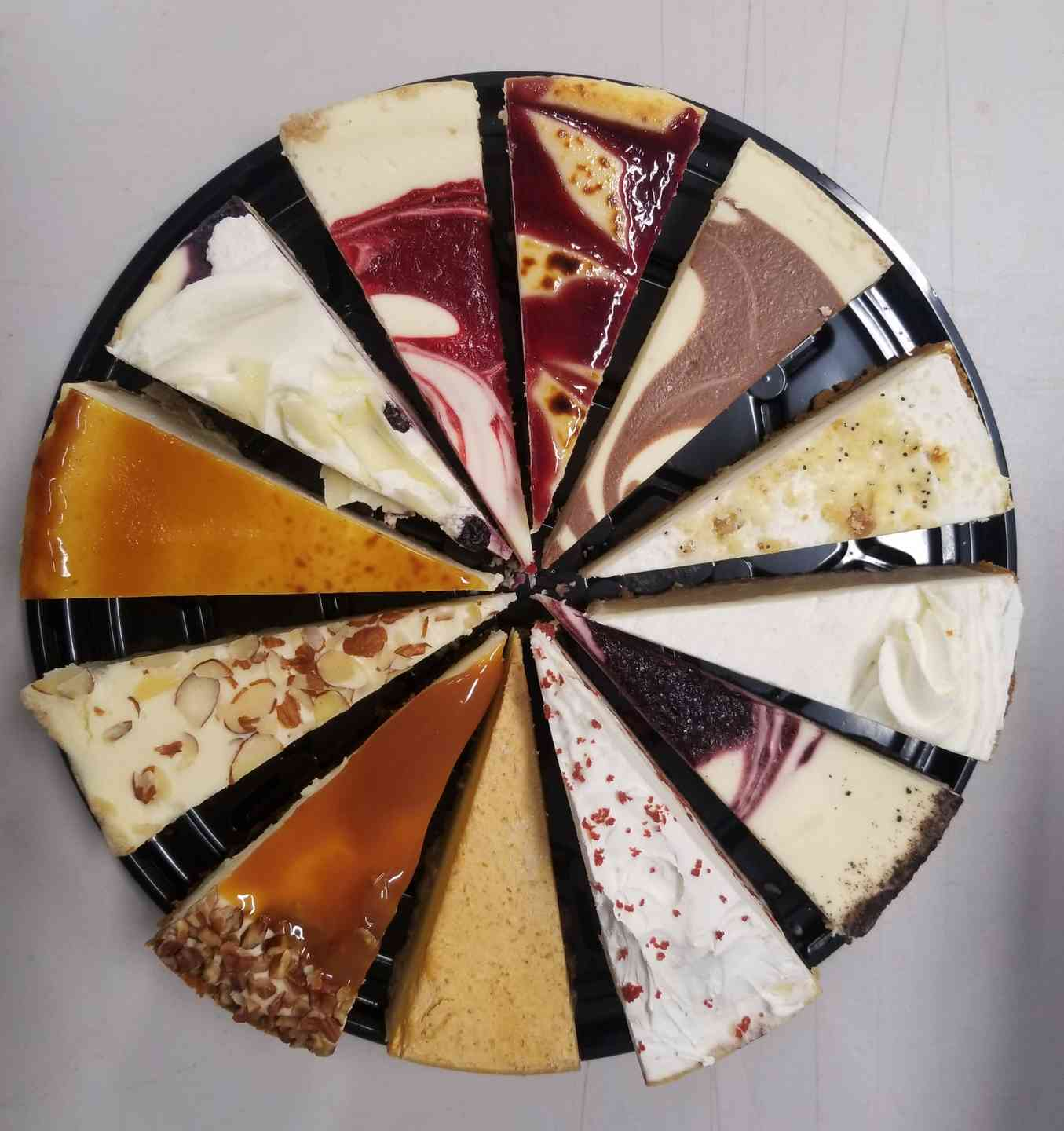 Cheesecake Sampler Tray