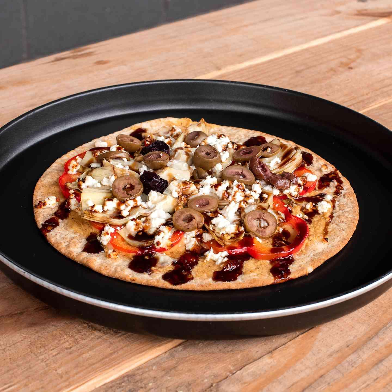 Greek Flatbread Pizza