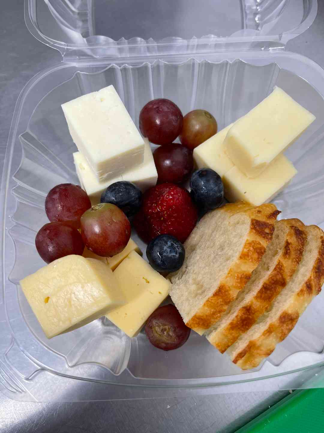 Mini Fruit and Cheese Plate