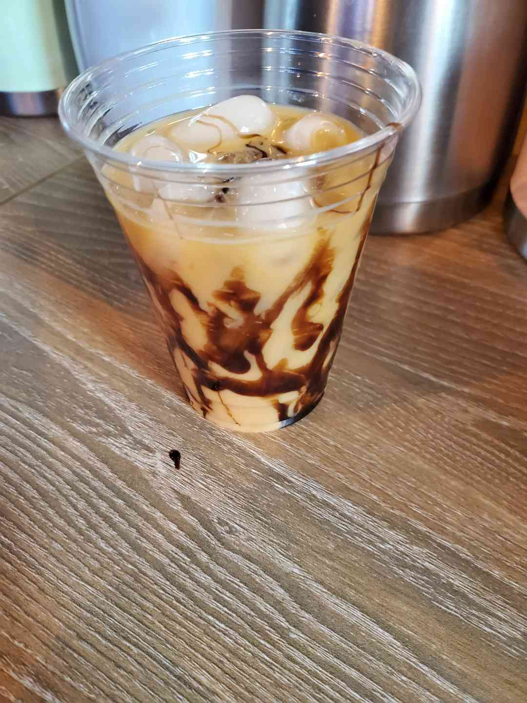 Ice Coffee Swirl