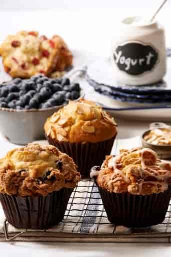 Assorted Yogurt Muffins