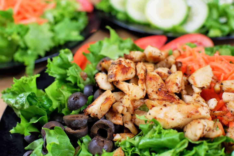 Grilled Chicken Platter