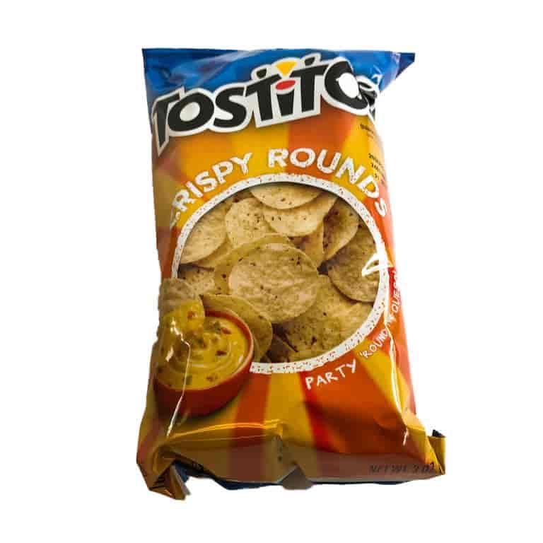 Round Tortilla Chips
