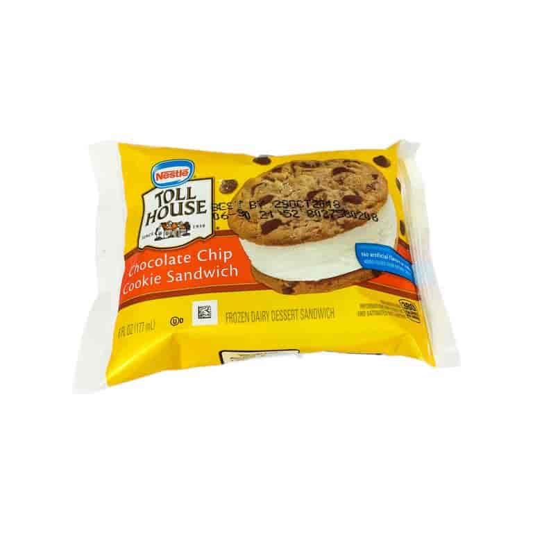 M&M Cookie Ice Cream Sandwich