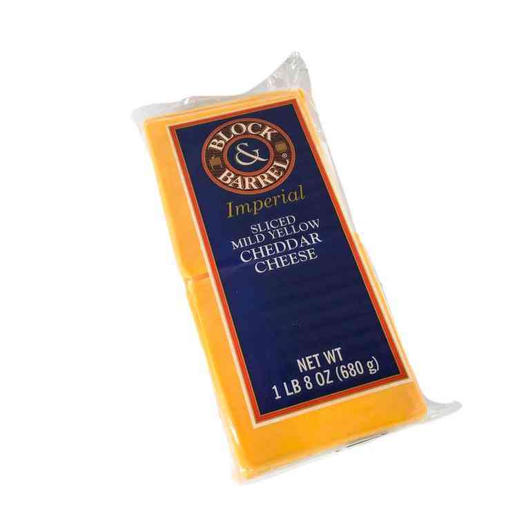 Mild Sliced Cheddar Cheese