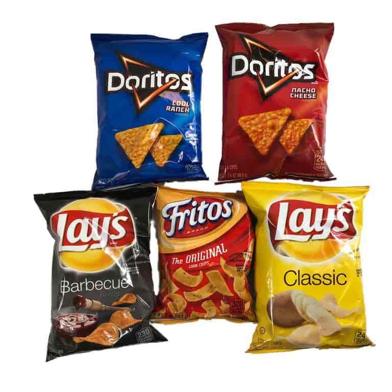 Variety Frito Lay Chips