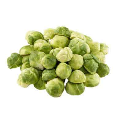 Halved Brussel Sprouts