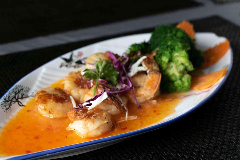 Jumbo Shrimp & Jumbo Scallop