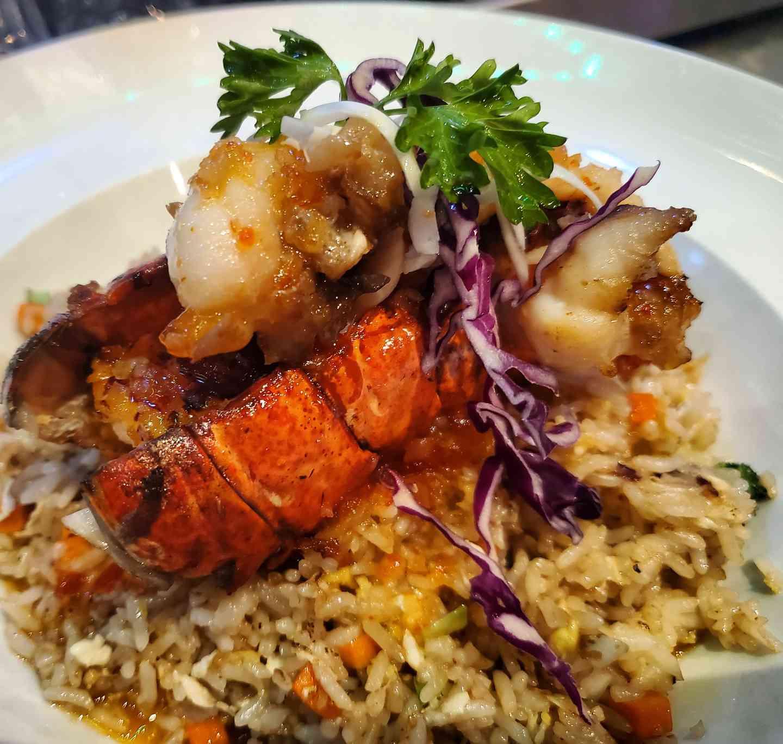 Pan Seared Lobster