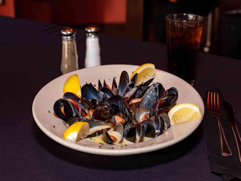 Mussels Du Jour