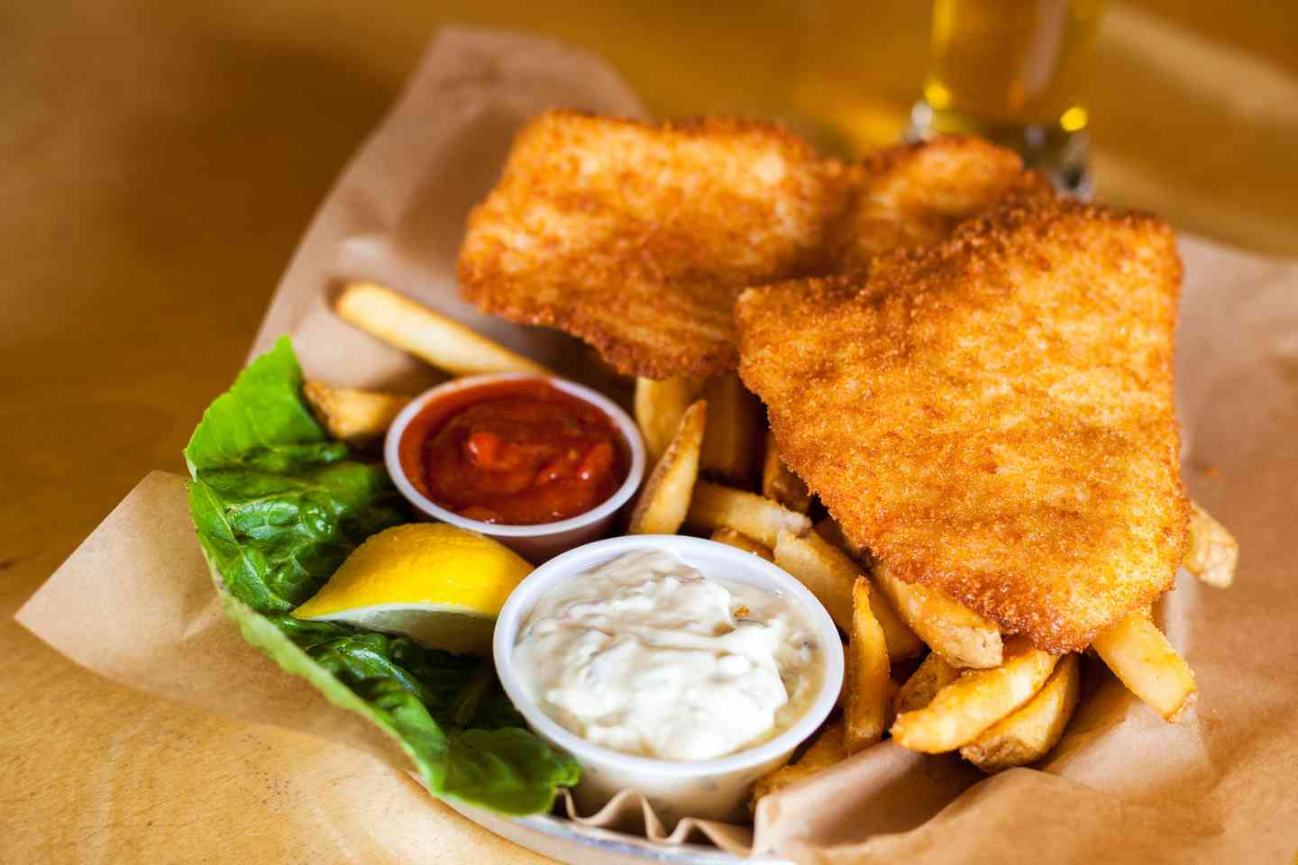 Hand Breaded Halibut