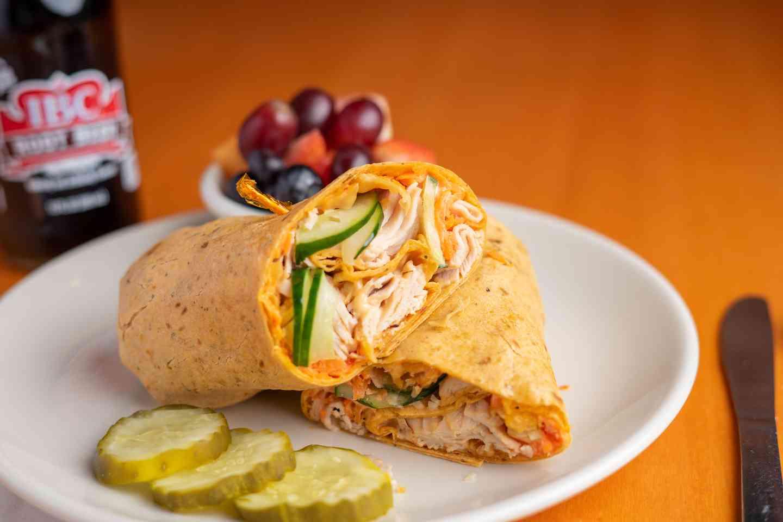 Thai Crunch Turkey Wrap