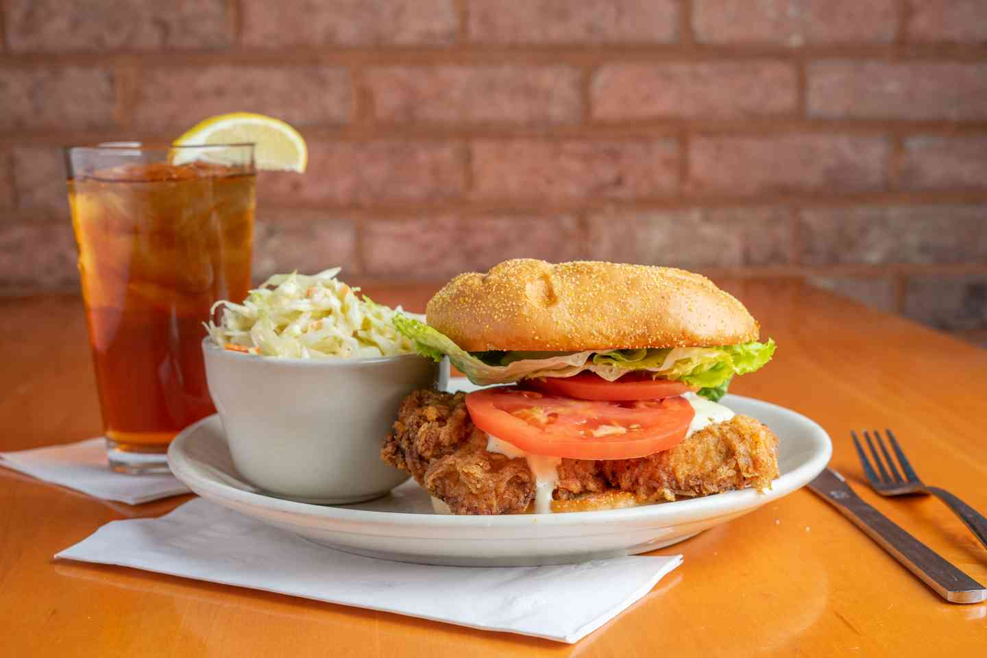 The Big Fried Chicken Sandwich
