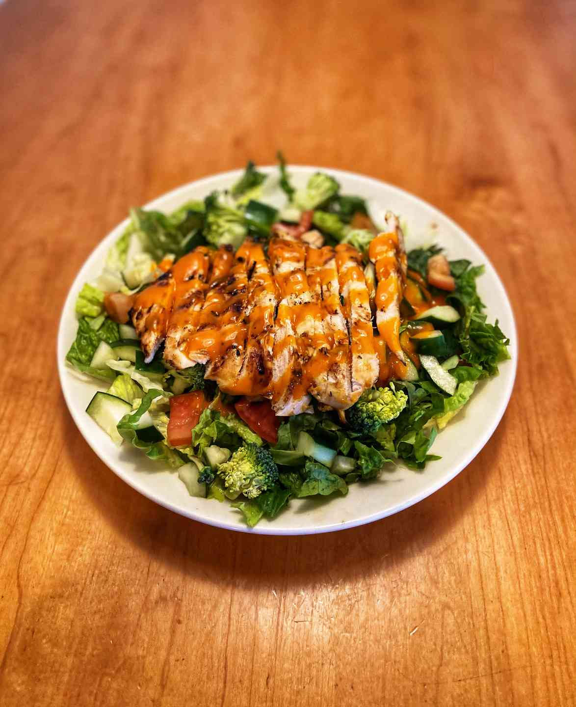 Pinehurst Chicken Grill Salad
