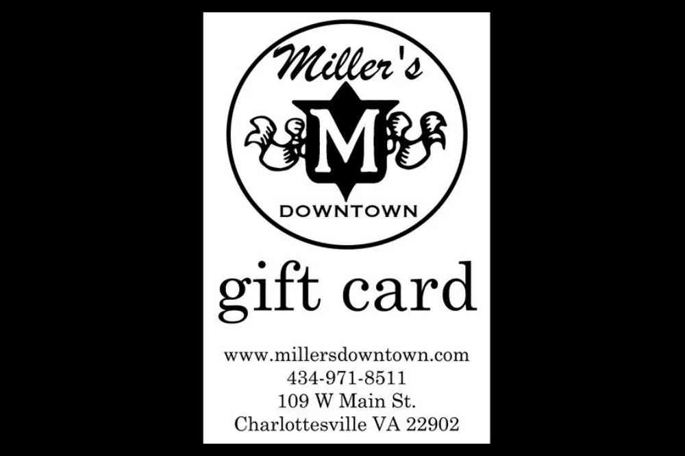 Miller's Gift Card