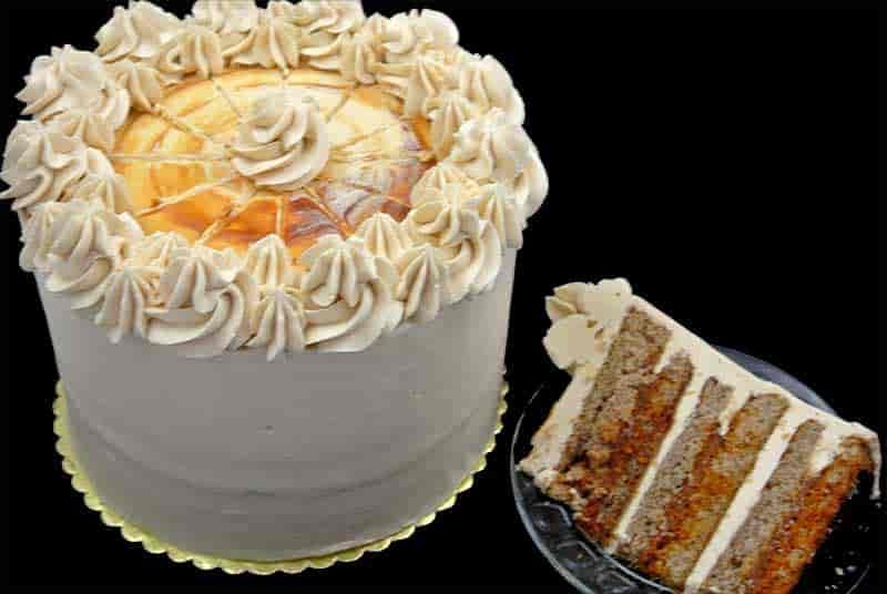 Carmel Apple Spice Cake
