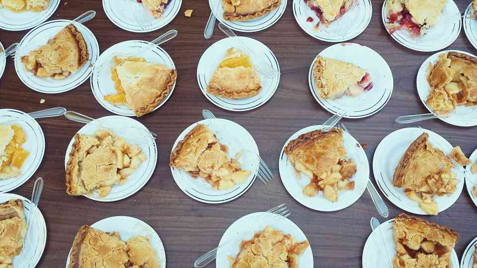 pie slices