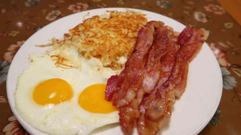 Bacon & 2 Eggs