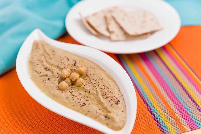 Turquoise Hummus
