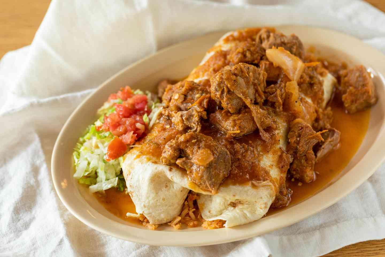 Classic Pork Chile Verde Burrito