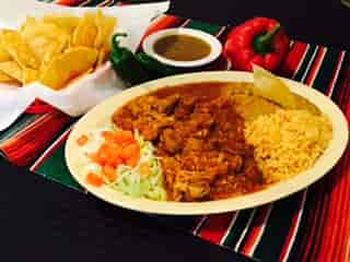 Pork Chile Verde Dinner