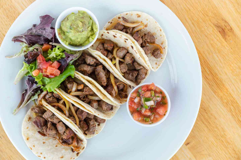 Ribeye Taco Plate