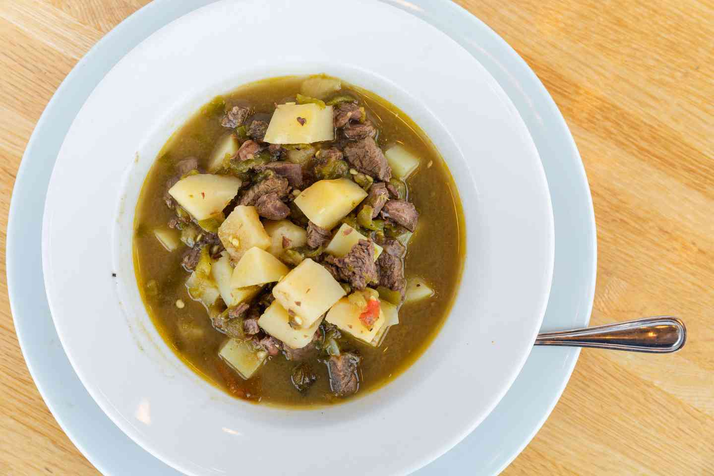 Frank Jr.'s Bowl of Green Chile Stew