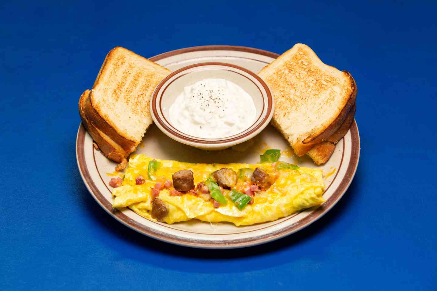 *Meat Lovers Omelet